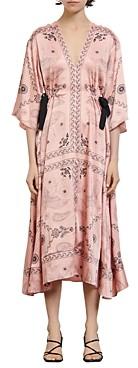 Sandro Galy Paisley Print Dress