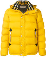 Burberry detachable sleeve padded jacket