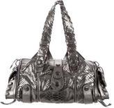 Chloé Metallic Python Silverado Bag