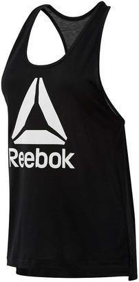 Reebok Womens Workout Ready Supremium Logo Tank