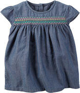 Carter's Chambray Top - Toddler Girls 2t-5t