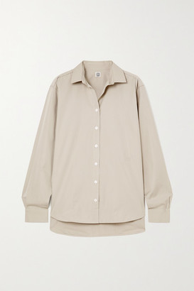 Totême Signature Cotton-poplin Shirt