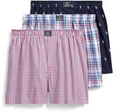 Polo Ralph Lauren Pack of 3 Printed Cotton Boxers