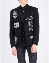 Philipp Plein Gloria Slim-fit Woven Jacket