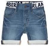 Timberland Light Wash Denim Shorts
