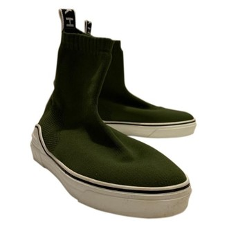 Givenchy George V Green Polyester Trainers