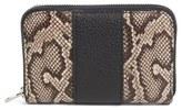 Alexander Wang Mini Compact Zip Wallet