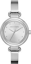 Armani Exchange Half bangle bracelet watch