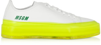 MSGM Fluo Floating Sneakers