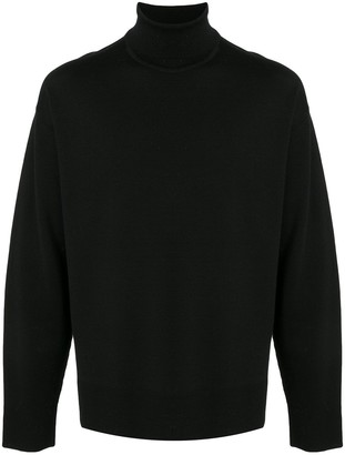Solid Homme Roll Neck Jumper