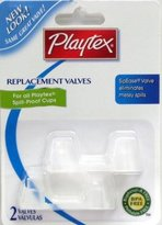 Playtex Spill-Proof Cup Replacement Valves (Pack of 3)