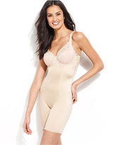 Maidenform Firm Control Vintage Chic Long Leg Body Shaper 2045