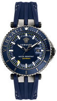 Versace VAK020016 Stainless Steel Silicone Watch