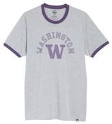 '47 Men's University Of Washington Huskies Ringer T-Shirt