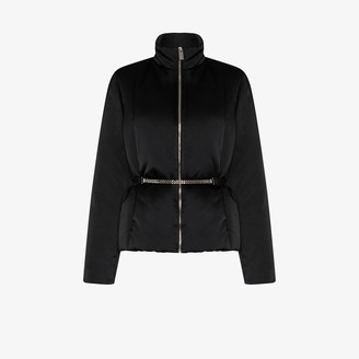 Alyx Chain belt puffer jacket
