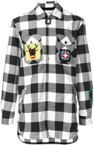 J.W.Anderson checked shirt - men - Cotton/Acrylic/Wool - 46