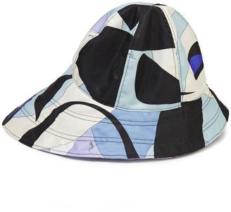 Emilio Pucci Printed Twill Bucket Hat