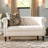 Three Posts Huntingdon Chesterfield Loveseat