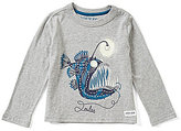 Joules Little Boys 3-6 Raymond Glow-In-The-Dark Fish Top