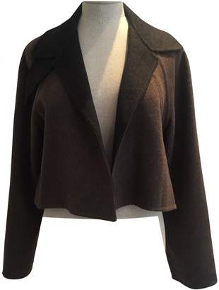 Bamford England Brown Cashmere Jacket for Women