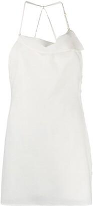 Jacquemus Halterneck Mini Dress