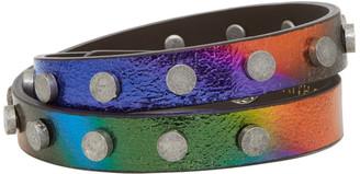 Faith Connexion Multicolor Leather Bracelet