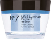 No7 Lift & Luminate Night Cream