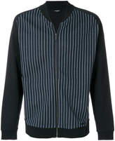 Calvin Klein striped bomber jacket