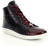Belvedere Men s Vitale Eel and Leather Sneakers