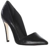 Dina Metallic Snake Heel