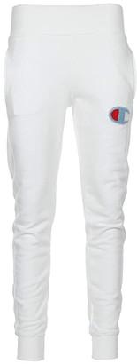 Champion Reverse Weave Jogger (White) Women's Casual Pants