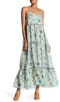Zadig & Voltaire Rala Printed Silk Blend Maxi Dress