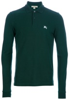 Burberry Long sleeve polo shirt