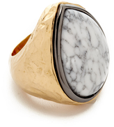 Aurelie Bidermann Marble Ring