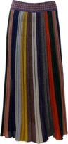 Missoni Mid Length Lamé Skirt
