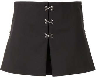 Dion Lee Accordian A-line mini skirt