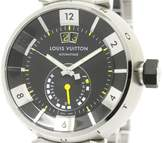 Louis Vuitton Tambour Q109G Stainless Steel Automatic 40mm Mens Watch