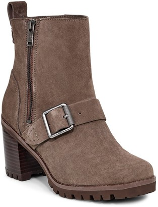 UGG Fern Waterproof Leather Bootie