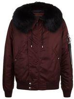 Givenchy Fur Trim Puffer Jacket