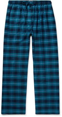 Derek Rose Kelburn Checked Cotton-Flannel Pyjama Trousers - Men