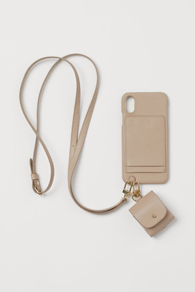 H&M iPhone case and headphone case