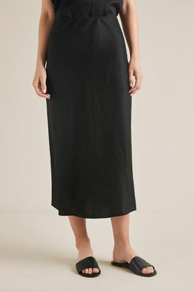 Seed Heritage Linen Slip Skirt