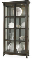 Hickory White Classic Modern Quinn Cabinet, Walnut