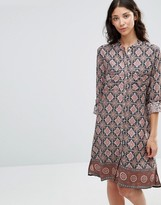 B.young Fanda Printed Shirt Dress