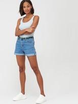 Very The Essential Tall Basic Rib Vest - Blue