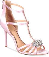 Jewel Badgley Mischka Hazel Strappy Evening Sandals