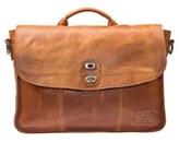 Will Leather Goods Men's 'Kent' Messenger Bag - Brown