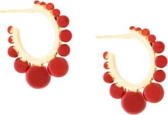 Aurelie Bidermann Ana hoop earrings