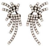 Dannijo Willis Crystal Jacket Earrings