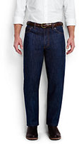 Classic Men's Comfort Waist Jeans-White